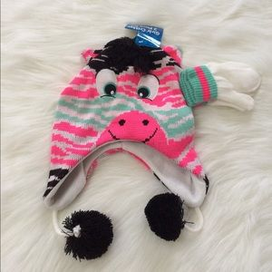 Other - Girls  Hat & Glove Set. NWT ONE SIZE