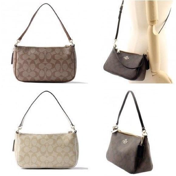 aa7c19f248adf Coach Handbags - Coach Messico Top Handle Pouch Crossbody Purse