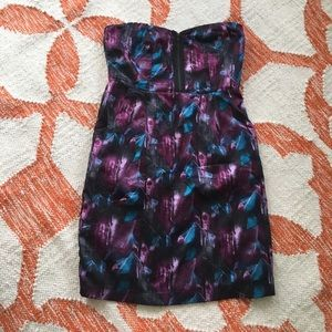 Urban Outfitters strapless mini dress