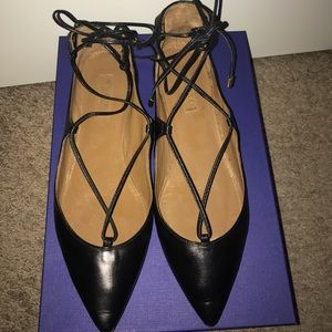 Christy flat by AQUAZZURA