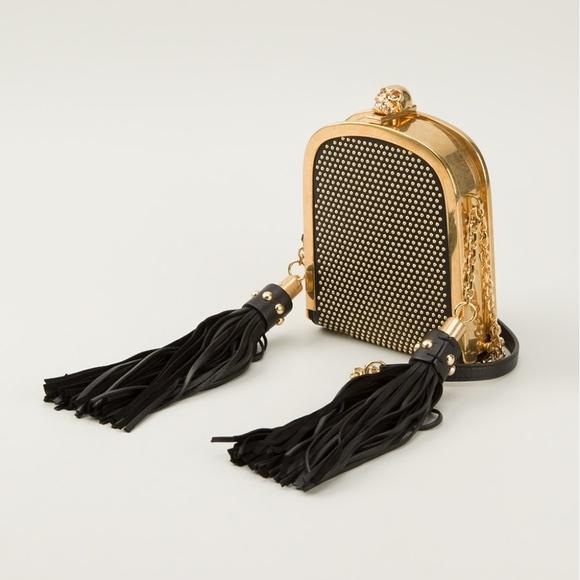 f18fefea097bd Alexander McQueen Bags | Skull Tassel Box Clutch | Poshmark