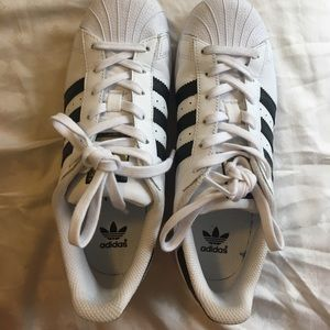 Adidas Superstar. Size 6.
