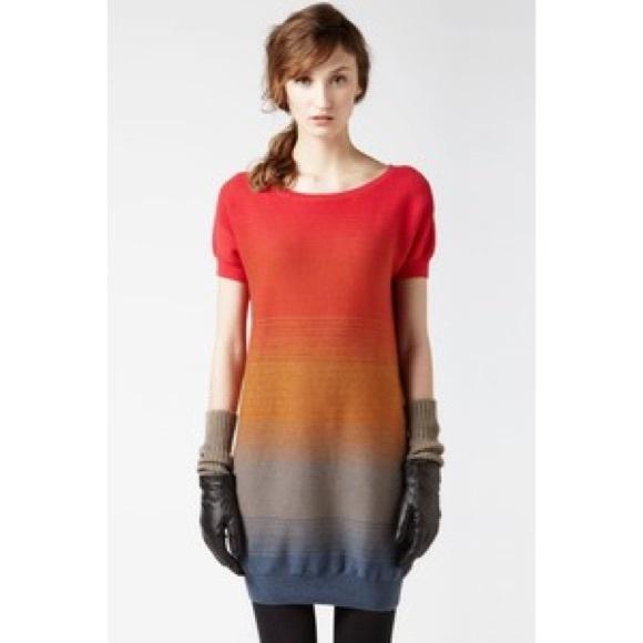 Sleeve Ombre Poshmark DressesSweater 38 Short M Lacoste Dress HE2YD9WI