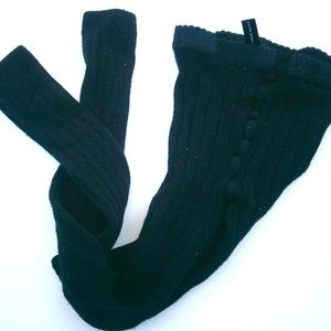 Black Wolford Footless / Ankle Tights Extra Small