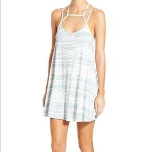 RVCA strappy swing dress