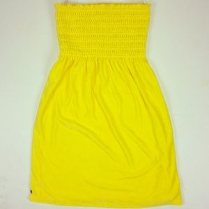 Lilly Pulitzer Terry Cloth Swim Cover Up Yellow