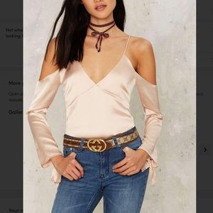 Rack1⃣3️⃣💗 odette satin blouse