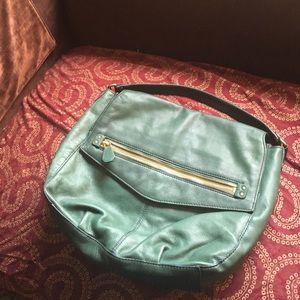 🎁Forest Green J.Crew Shoulder Bag!