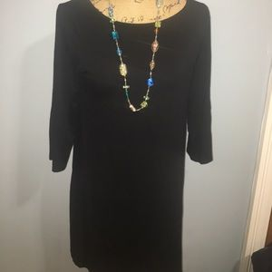 Black Eileen Fisher Dress