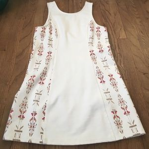 LIKE NEW Urban Outfitters cream tribal dress