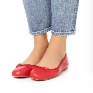 2b9b30a0ec73 Sam Edelman Shoes - Sam Edelman Finley flat red leather