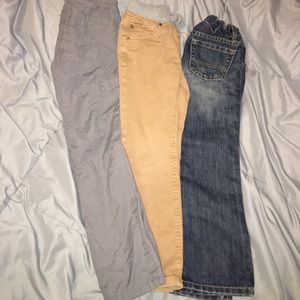 Lot of Boys size 5T and 5 pants Jeans