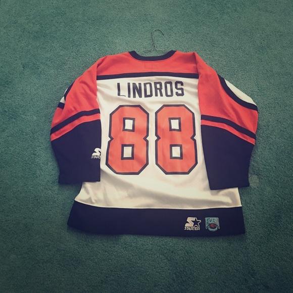 Eric Lindros Philadelphia Flyers Jersey. M 59fcce0d620ff7c03d04f27b a76eb7d8e