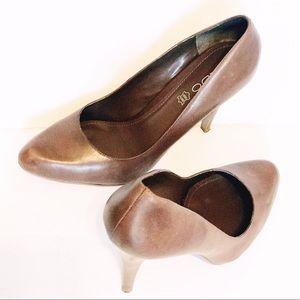 3b035eed5e5a Aldo Shoes - Aldo brown vero cuoio leather heels sz. 40