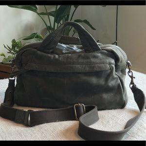 Vintage  J. Crew leather bag