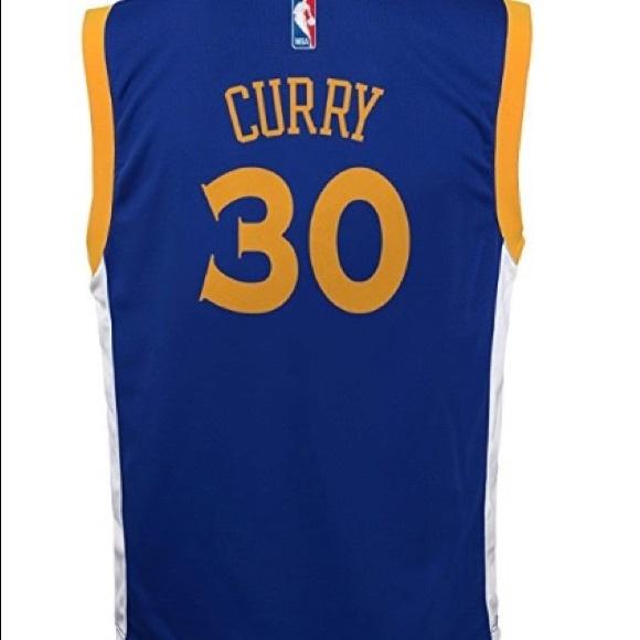 huge discount b1c4b 62fa7 NWT Steph Curry Jersey (Boys 10/12) NWT
