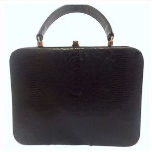 ✨hp✨Vintage 1950's Leather Box Purse, So Fab!