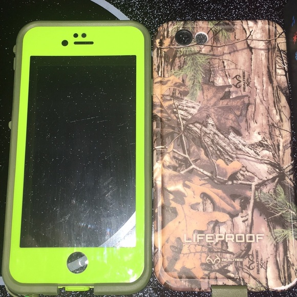 newest c25b2 3db1e Realtree Camo Lifeproof Case for IPhone 6/6s