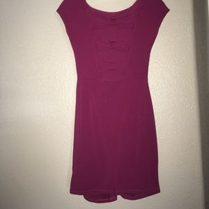NWOT Vans Body Con Dress with cute bows on back
