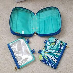 TRINA cosmetic makeup travel bag
