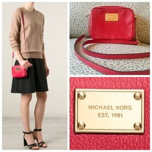 Michael Kors Jet Set Camera Crossbody Bag