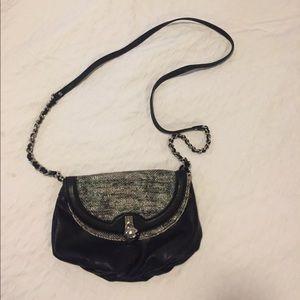 JLo Cross body bag - black and snakeskin 🐍
