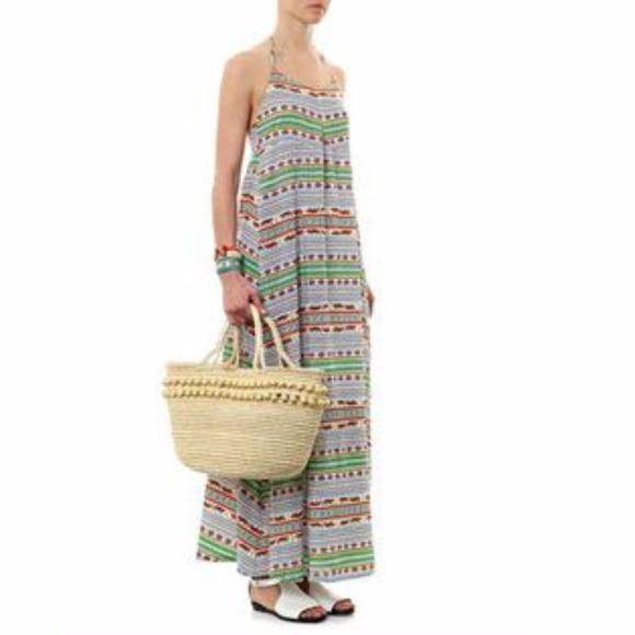 38f07942b2178 Mara Hoffman Dresses   Peasant Maxi Dress In Tiger Stripel   Poshmark