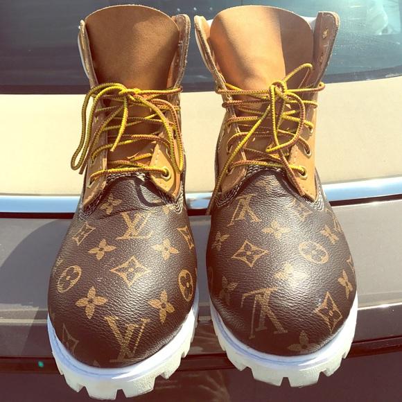 Louis Vuitton Timberland Sneakers