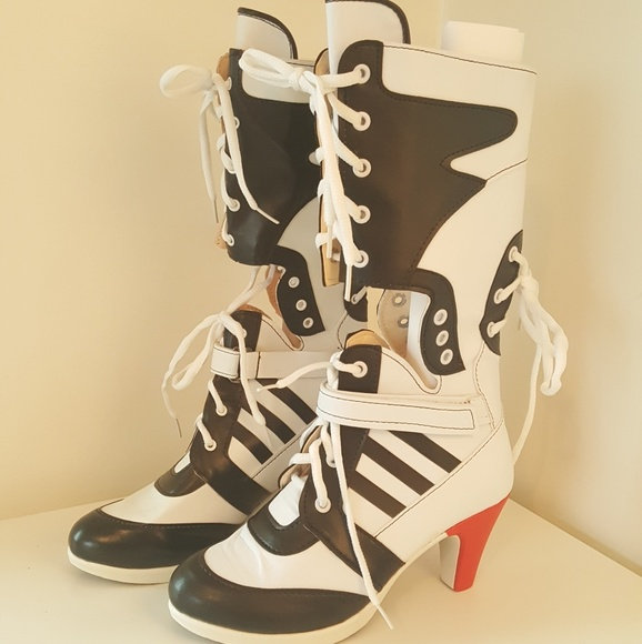 433d440534c5 Harley Quinn Cosplay Suicide Squad Boots