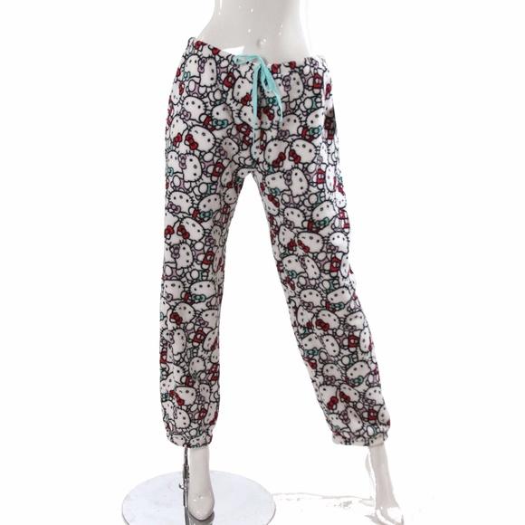 73bde1f98 Hello Kitty Intimates & Sleepwear | Pajamas Bottoms Fleece Juniors ...