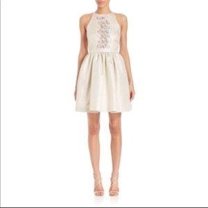 SHOSHANNA MIDNIGHT Crystal Beaded Mini Dress! NWT