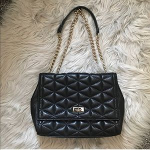 Kate Spade Quilted Leather Shoulder Bag