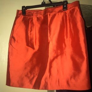 Orange Kate Spade Skirt