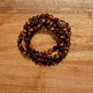 Jewelry - Tigers eye Mala bracelet