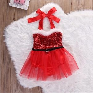 dresses nwt beautiful baby christmas holiday romperdress