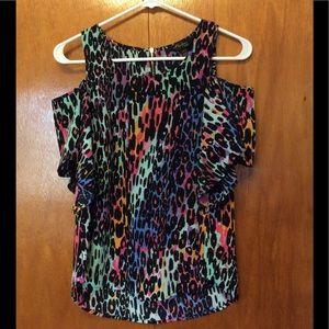 Thalia Sodi Shoulderless blouse