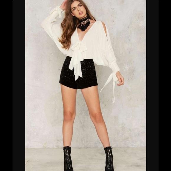 9bf9091591 🆕💛Rack13 hazy shade chiffon bodysuit