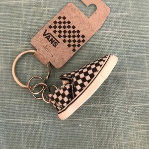 7a97edeeb0c8 Vans Accessories - RARE Vans mini checkerboard slip on keychain
