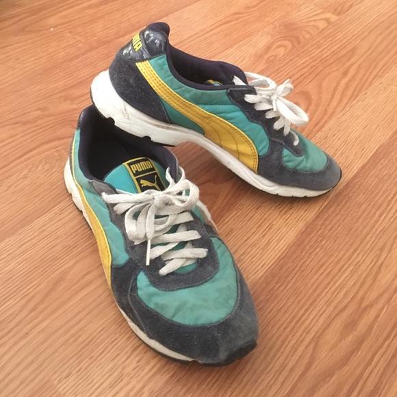 puma vintage running shoes - 56% remise