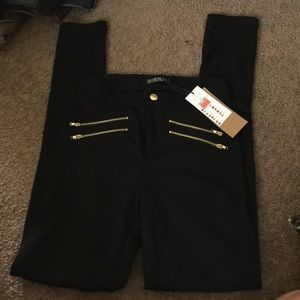Elevated ponte black leggings(super soft)