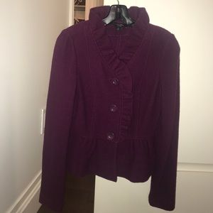 Max Mara Weekend blazer jacket in maroon!