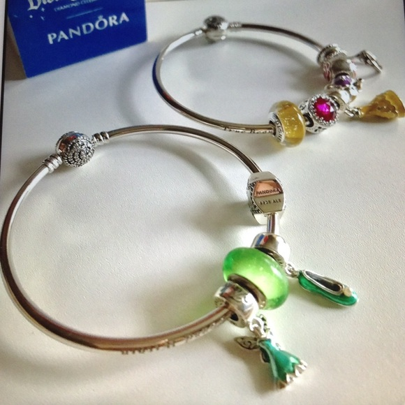 29a9ef815 Pandora Jewelry | Disney Tinker Bell Charm Set Of 4 New | Poshmark