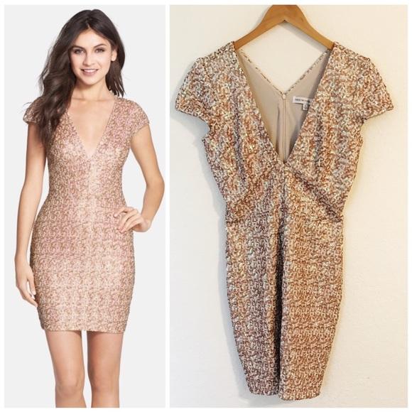 aeb674e35f13 Dress the Population Dresses & Skirts - Dress the Population Zoe Sequin  Minidress