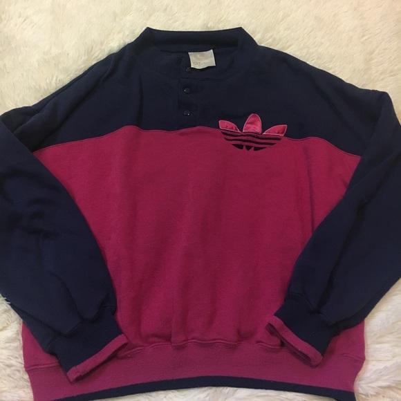 Tops Adidas Sweat Blue Poshmark Purple Vintage Shirt Pullover fArqAnx