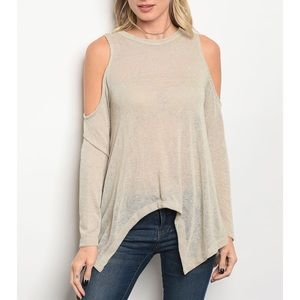 | COLD SHOULDER TOP |