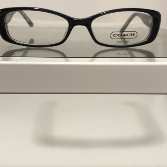 Coach Eyeglass Frames In Navy Blue | Poshmark