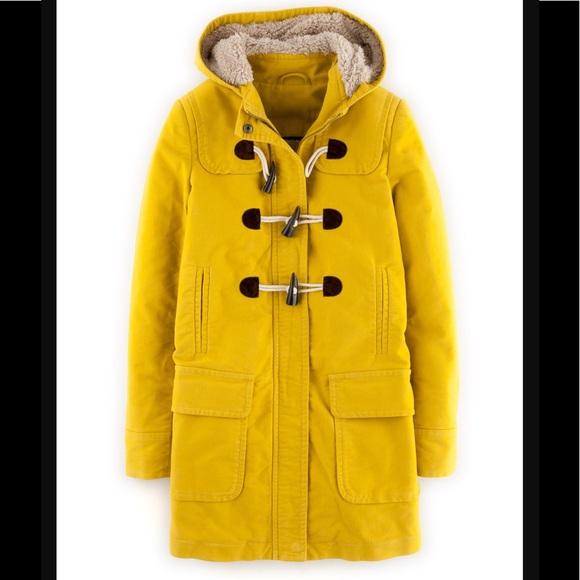 dd8ae5e91269 Boden Jackets   Blazers - Boden Moleskin Duffle Coat in mustard yellow