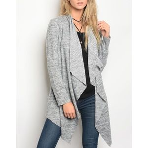 | INSIDE OUT WATERFALL CARDIGAN |