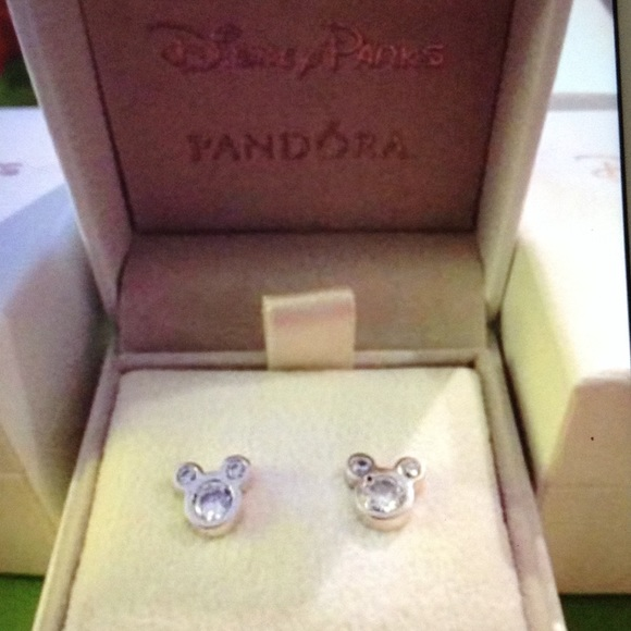 74935c63cca85 Pandora Disney Mickey Mouse Earrings NEW Boutique