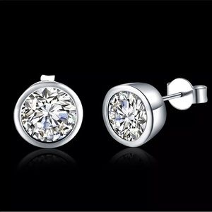 Hot🔥 Cubic Zirconia 925 Sterling Silver Earrings